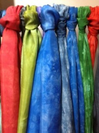 Anne's scarves