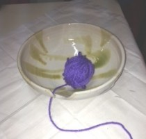 Anne's yarn bowl